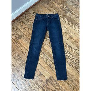 Just Black - Mid Rise Crop Skinny Jean - Size 25